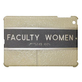 Faculty women sign iPad mini case