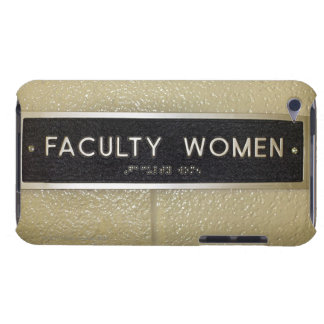 Faculty women sign iPod Case-Mate case