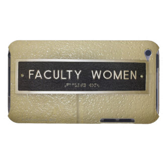 Faculty women sign iPod touch cover