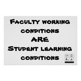 Faculty Working Conditions... Poster