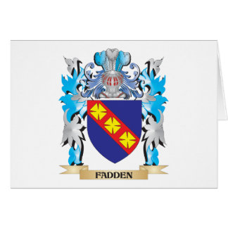 Fadden Coat of Arms - Family Crest Cards