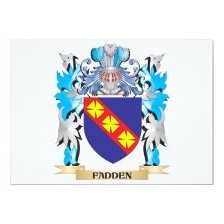 Fadden Coat of Arms - Family Crest Invites