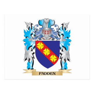 Fadden Coat of Arms - Family Crest Postcards