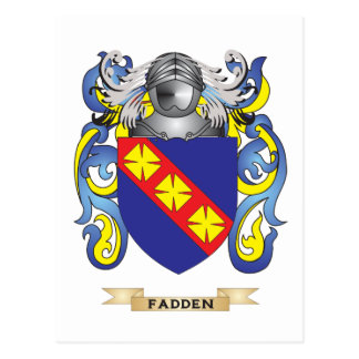 Fadden Coat of Arms Post Cards