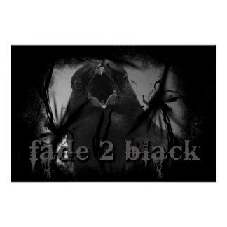 Fade 2 Black Crow Poster