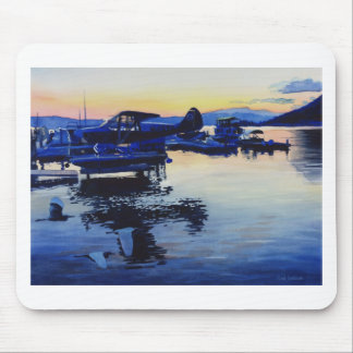 Fade Away by paul jackson Mouse Pads