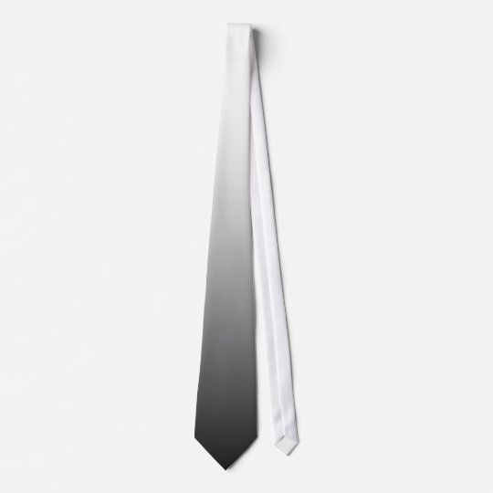 Fade Tie - White to Midnight