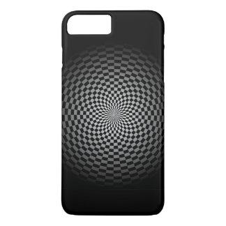Fade to Black Checker iPhone 8 Plus/7 Plus Case