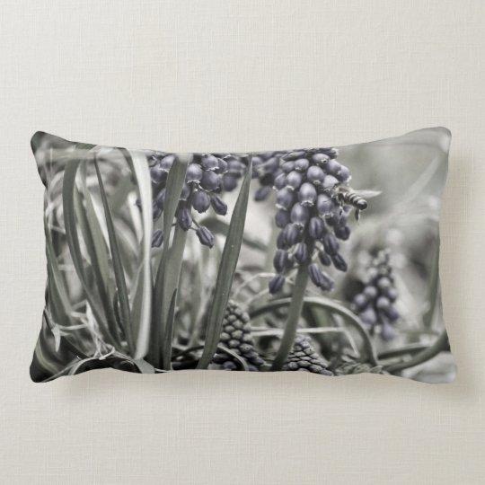 Fade to Black Lumbar Pillow