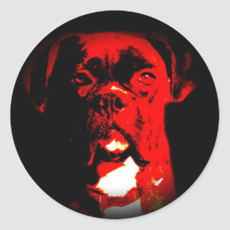 Fade to Black Round Stickers - Customized