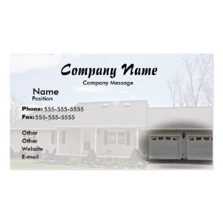 Fade to White Double-Sided Standard Business Cards (Pack Of 100)