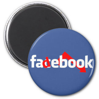 Fadebook 2 Inch Round Magnet