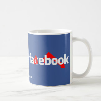 Fadebook Coffee Mug