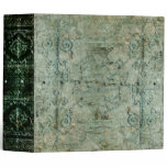 Faded Aged Green Ancient Tome 3 Ring Binder