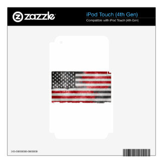 Faded America iPod Touch 4G Skin