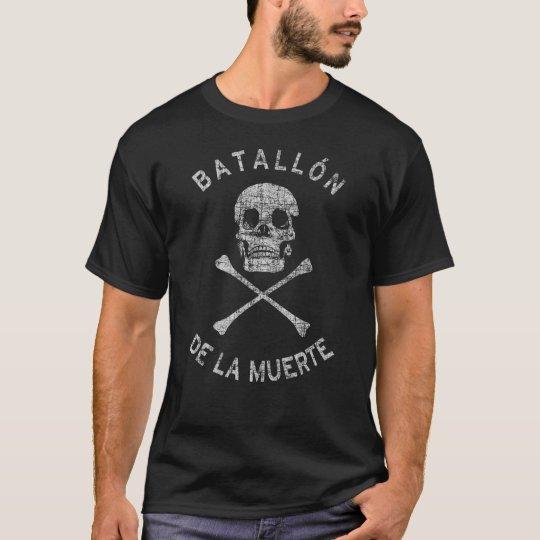 Faded Anarchist Skull and Crossbones T-Shirt