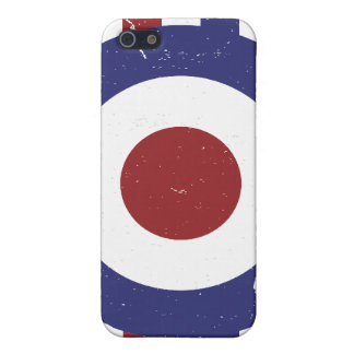 Faded and weathered Mod target Case For iPhone SE/5/5s