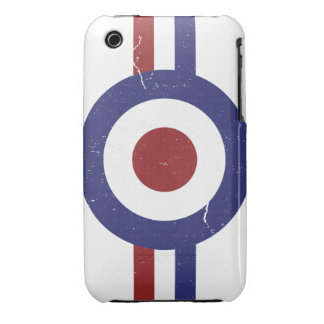 Faded and weathered Mod target iPhone 3 Case-Mate Case