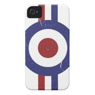 Faded and weathered Mod target iPhone 4 Cover