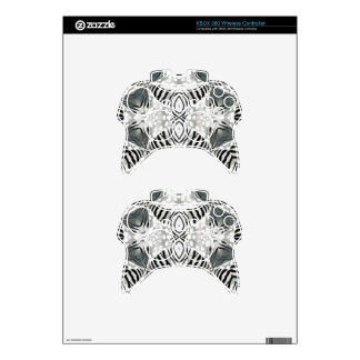 Faded Animal Print Xbox 360 Controller Skin