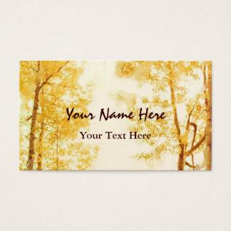 Faded Aspens business card