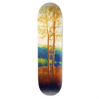 Faded Aspens skateboard