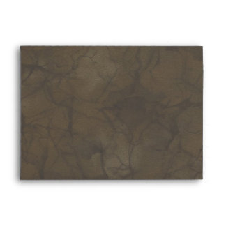 Faded AUTUMN CAMOUFLAGE Greeting Card Envelope
