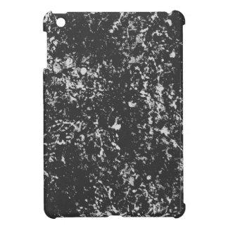 Faded Black&White Paint Splatter iPad Mini Cover