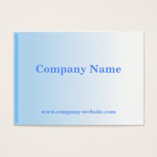 Faded Blue Business Card