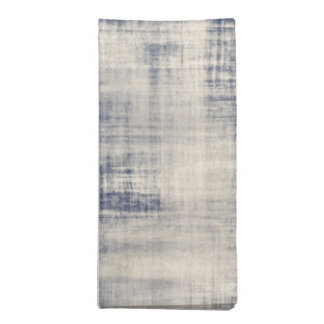 Faded Blue Denim Look Cloth Napkin
