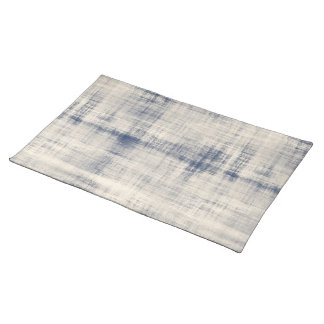Faded Blue Denim Look Placemats