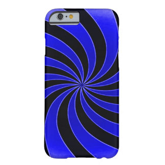 Faded Blue Mind Warp Barely There iPhone 6 Case
