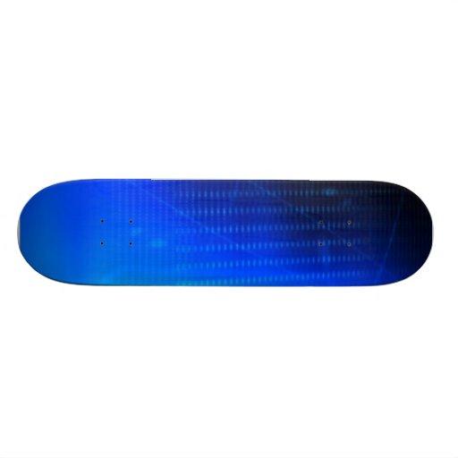 """""""Faded Blue"""" Skateboard Deck"""
