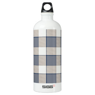 Faded Blue Squared SIGG Traveler 1.0L Water Bottle