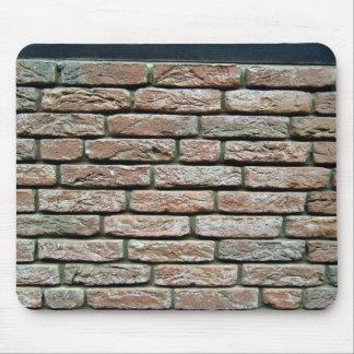 Faded brick texture mousepad