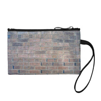 Faded Brick Wall Background Coin Purse