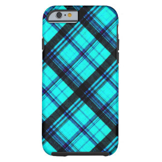 Faded Bright Flannel Tough iPhone 6 Case