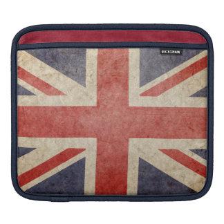 Faded British Flag iPad Sleeves