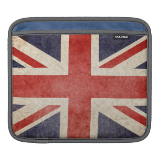 Faded British Flag Sleeve For iPads