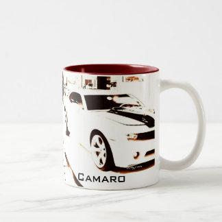 """""""Faded Camaro"""" © 2009 S.J. Two-Tone Coffee Mug"""