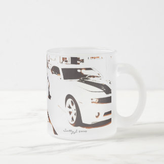 Faded Camaro © copyright 2009 S.J. Frosted Glass Coffee Mug