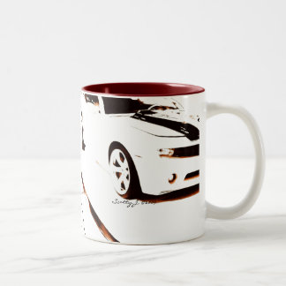 Faded Camaro © copyright 2009 S.J. Two-Tone Coffee Mug