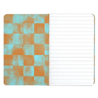 Faded Checkered Summer Journals