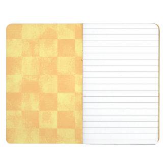 Faded Checkered Sun Journal