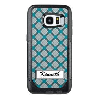 Faded Circle Grid by Kenneth Yoncich OtterBox Samsung Galaxy S7 Edge Case