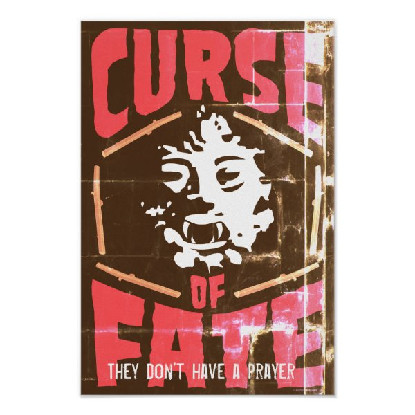 Faded Curse of Fate Poster