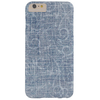 Faded Denim Barely There iPhone 6 Plus Case