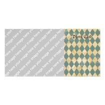 Faded Diamond Pattern Card
