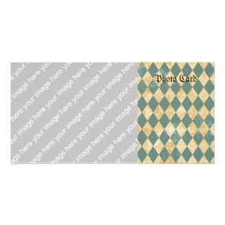 Faded Diamond Pattern Card