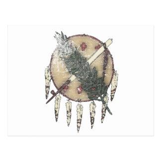 Faded Dreamcatcher Postcard